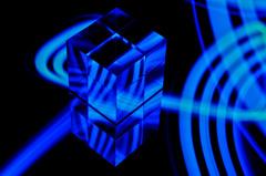 Acrylic cube 01/light painting