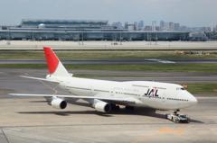JAL B747-400D
