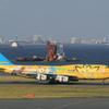 ANA B747-400D ポケモンジェット
