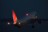 JAL A300-600R 夜間飛行の始まり