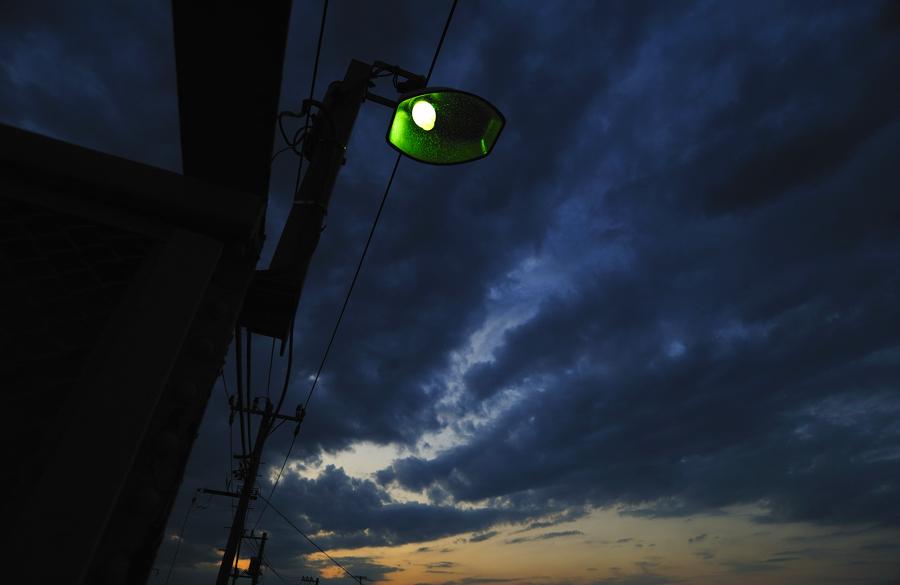 お気に入りの街路灯。