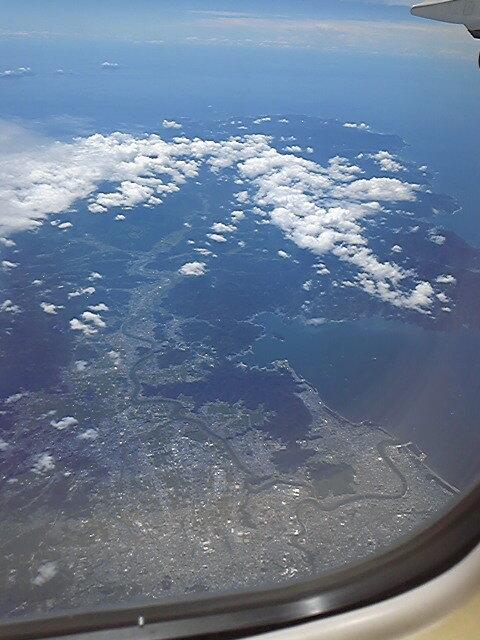 高度10,000mからの伊豆半島