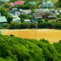 RICOH CX4で撮影した(ミニチュアライズ⑩@函館山)の写真(画像)