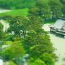RICOH CX4で撮影した風景(ミニチュアライズ⑮@五稜郭)の写真(画像)