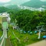 RICOH CX4で撮影した(ミニチュアライズ⑳@大倉山ジャンプ台)の写真(画像)