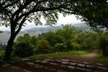 甘樫の丘にて