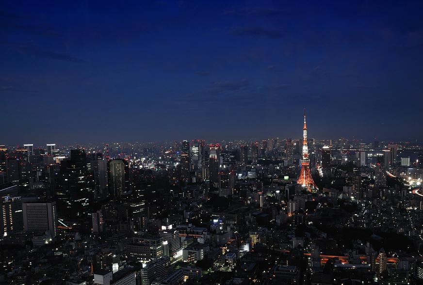 Tokyo nigt view