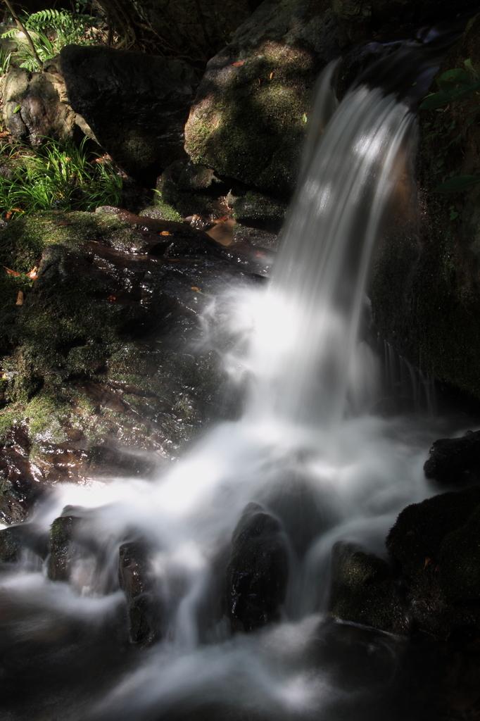 三段の滝、最後の1段