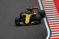 Renault F1  ー タイヤテスト in SUZUKA ー