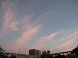 雲のシャワー