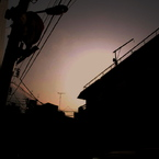 OLYMPUS E-420で撮影した風景(夕闇通りのシンドローム)の写真(画像)