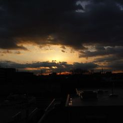 RICOH Caplio R7で撮影した風景(地平の呼吸)の写真(画像)