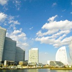OLYMPUS E-410で撮影した風景(yokohama sky 1)の写真(画像)