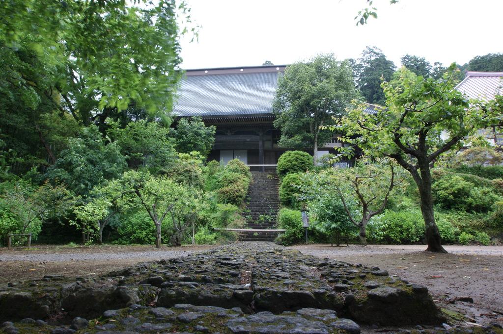 小雨大中寺