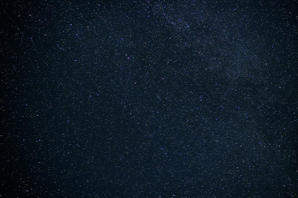 星かノイズか・・・