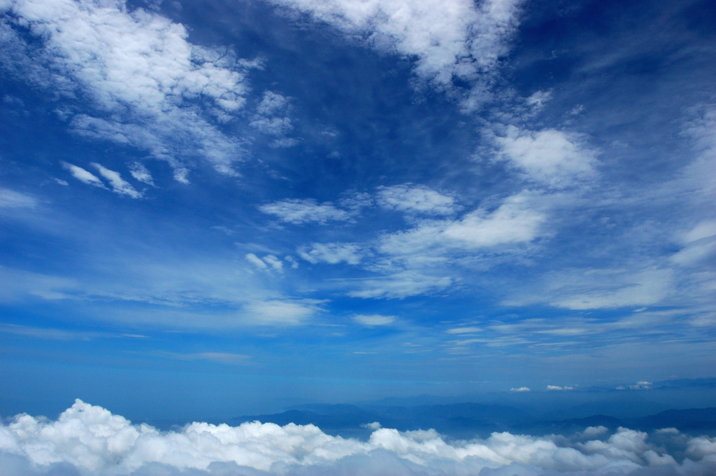 夏富士からの景色