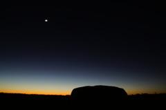 Dark Uluru.