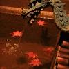 永観堂 竜と紅葉