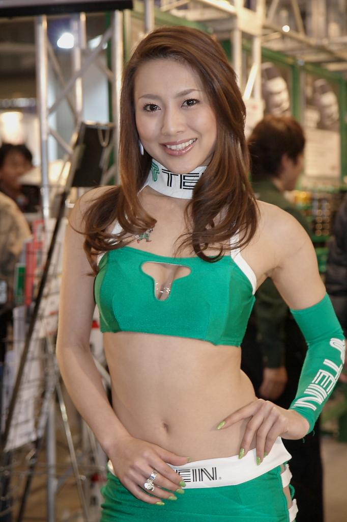 追憶・東京オートサロン2008 飯田奈月さん