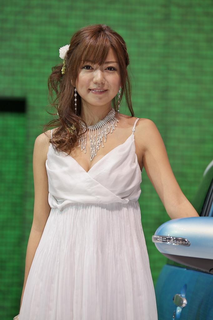 東京モーターショー2009-09-2 稲垣慶子さん