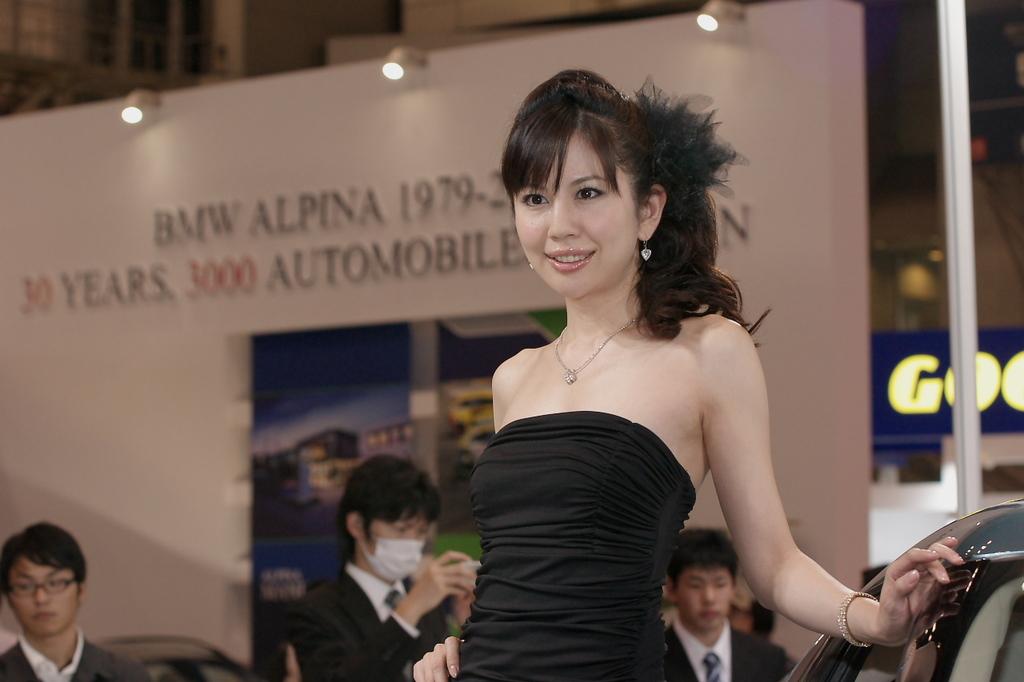 東京モーターショー2009-03-3 谷口真紀さん