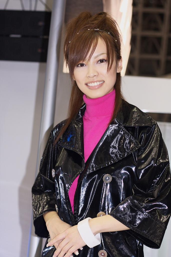 追憶・東京モーターショー2007 森田泉美さん
