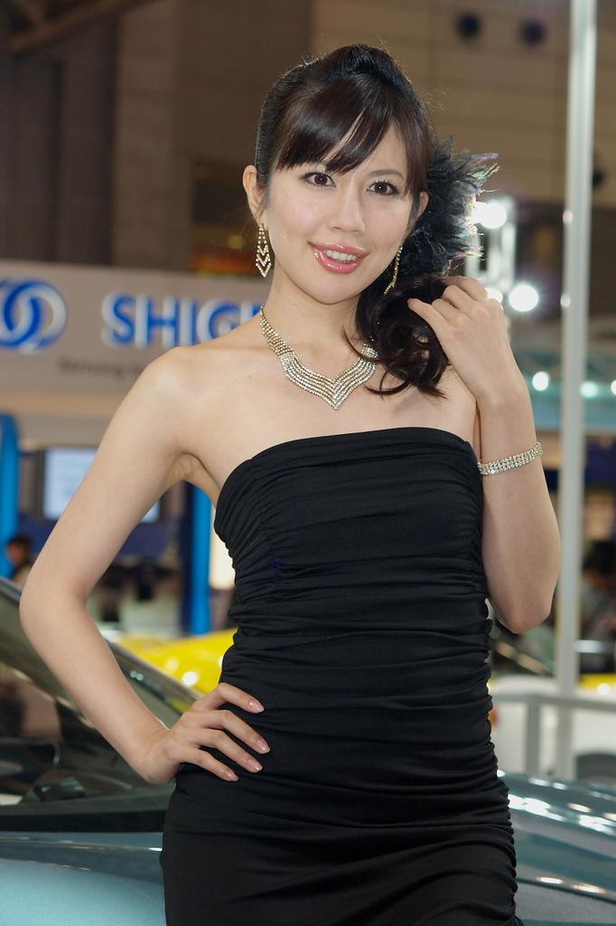 東京モーターショー2009-03-4 谷口真紀さん