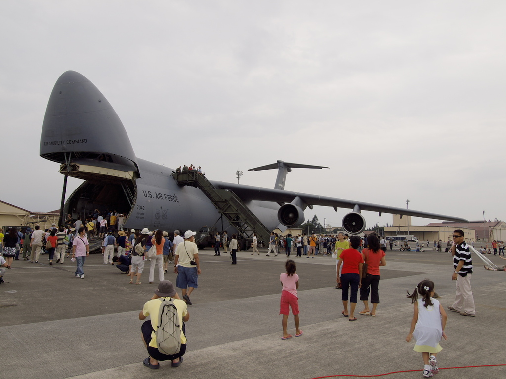 横田基地友好祭にて6