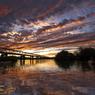秋の木曽川