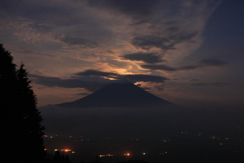 幻想的富士山?