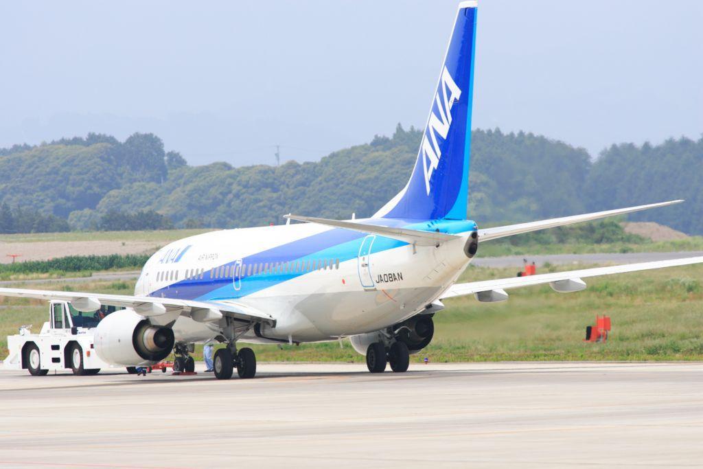 静岡空港にて 737-700 その2
