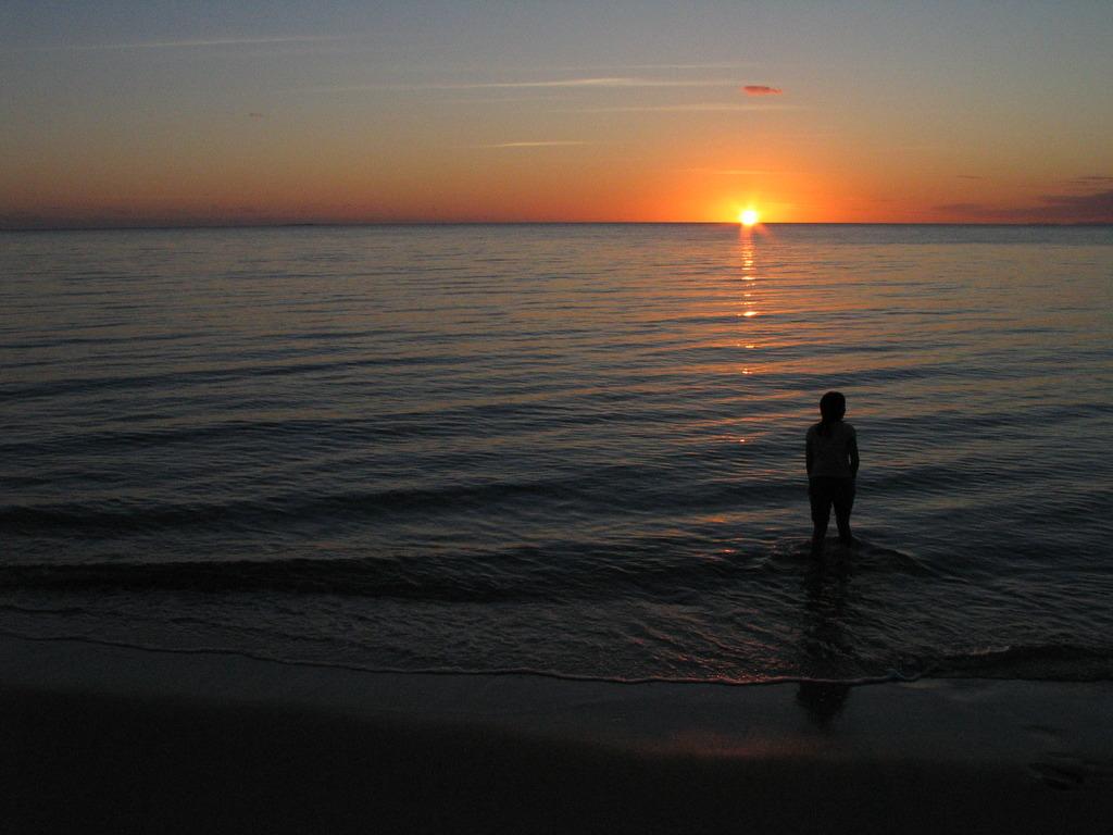 いつか見た夕日