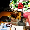 深夜の書斎