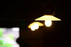 白川郷 和田屋の電灯