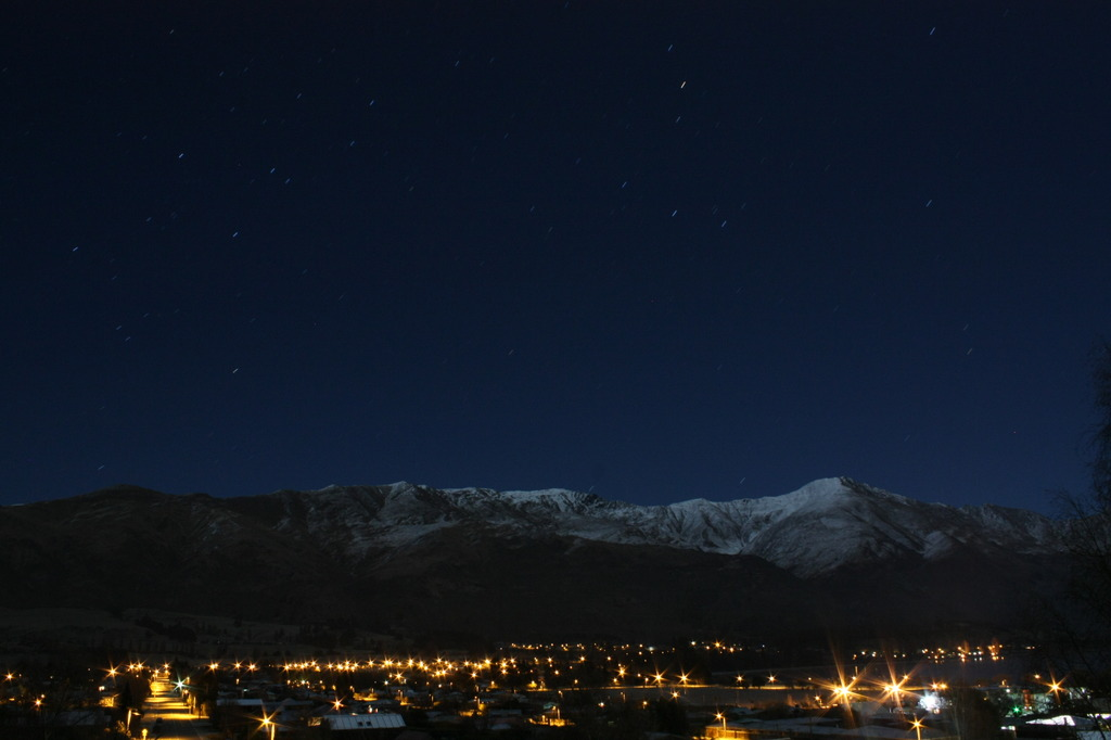 Wanaka Town at Night