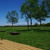 広大な芝生