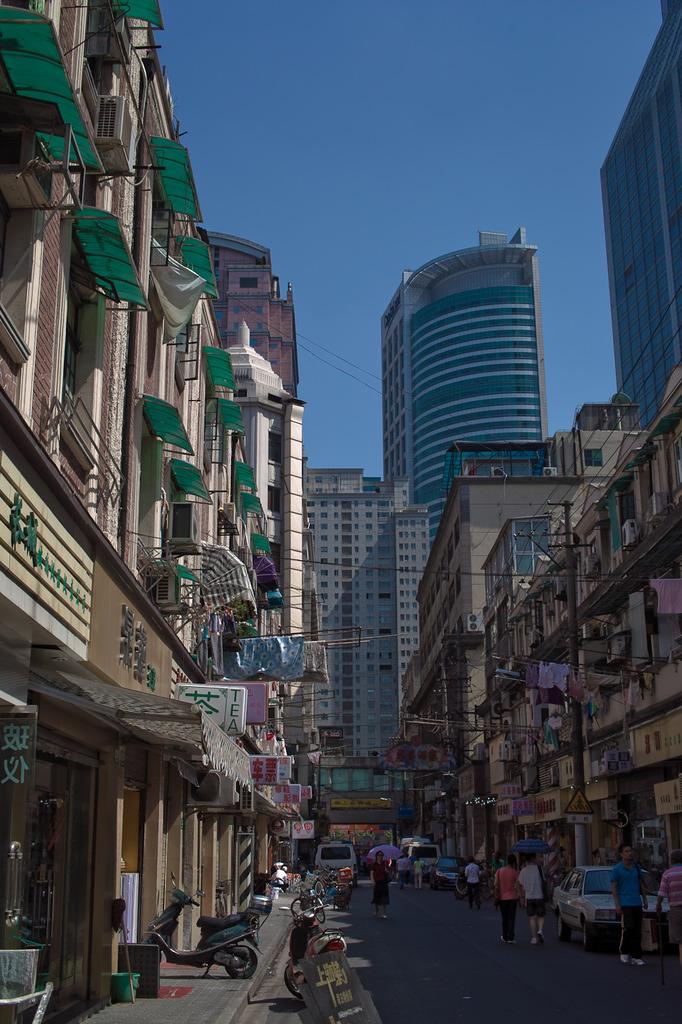澄んだ上海