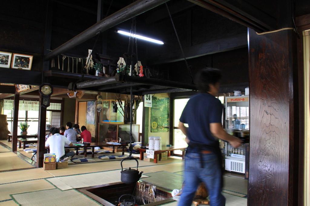 古民家の蕎麦屋