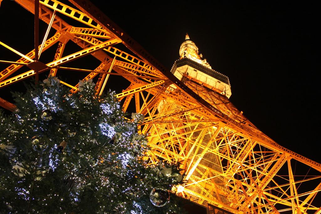 東京タワーwithクリスマス