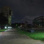 CANON Canon PowerShot SX10 ISで撮影した建物(志免炭坑跡と公園)の写真(画像)
