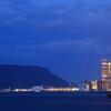 黄昏の高松港