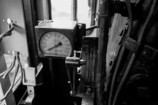 蒸気機関車 スピードメーター