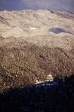 郡上八幡城冬景色