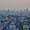 大阪夕景から夜景2