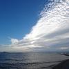9月1日 琵琶湖の夕焼け1