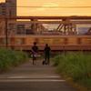 8月21日夕焼け散歩
