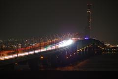 光の帯 関空連絡橋