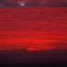 9月1日 琵琶湖の夕焼け4
