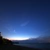 琵琶湖 夜の始まり