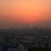 大阪夕景から夜景1